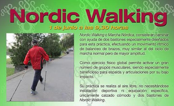 El nordic walking, un saludable ejercicio