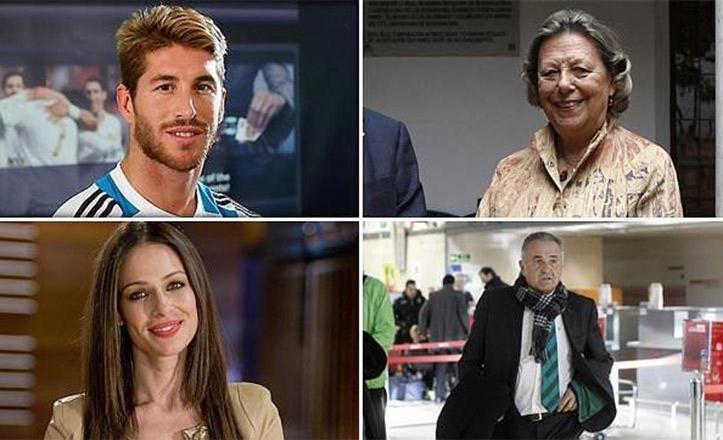Sergio Ramos, Enriqueta Vila, Eva González o Rafael Gordillo, entre los premiados