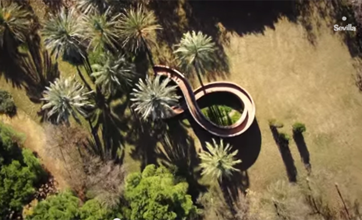 Captura del vídeo promocional «Ven a #Sevilla»