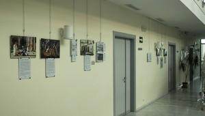 Vista general de la exposición sobre el monasterio de San Jerónimo