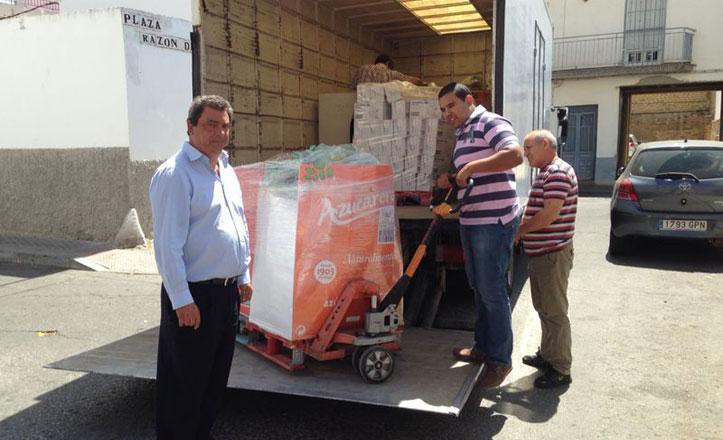 Entidades solidarias reciben alimentos del Distrito Este para los más necesitados