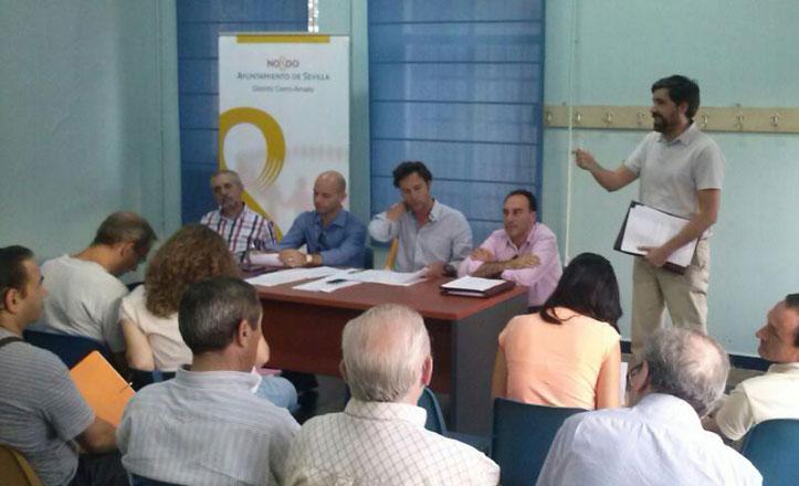 El Consejo de la Infancia, en la junta municipal del Cerro-Amate