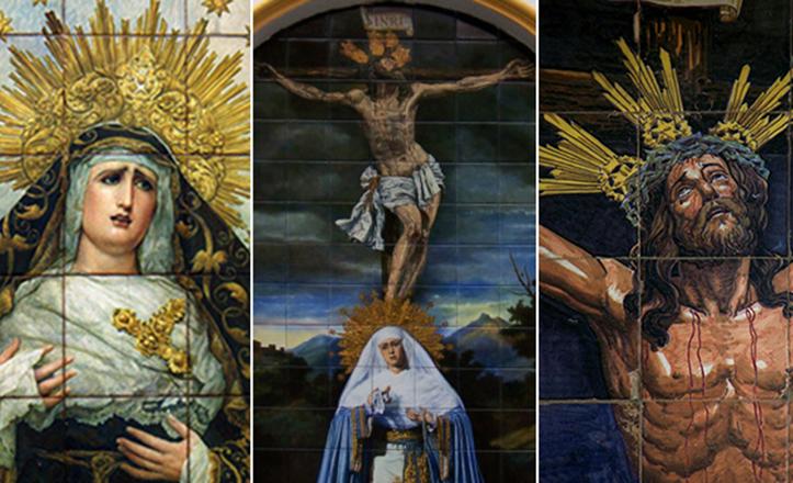 Los retablos cerámicos, muestra de devoción y destreza artística de Sevilla