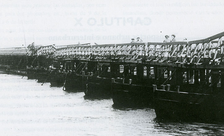 Los otros puentes de barcas