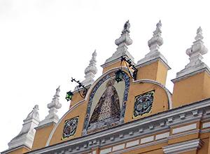 Azulejo del Arco de la Macarena
