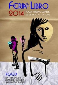 Cartel Feria del Libro Sevilla 2014