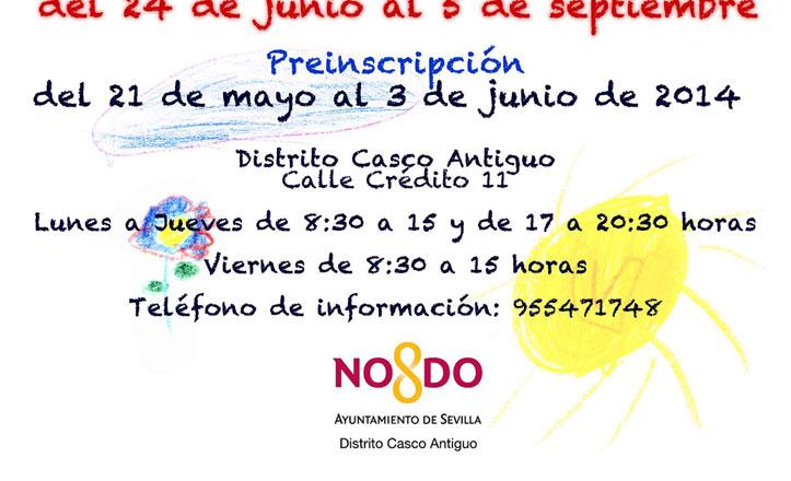 Nueva edición de la Escuela de Verano en el Distrito Casco Antiguo