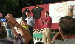 José Miguel Luque en el fin de temporada del Club Deportivo Jorge Juan