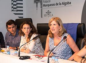 Amidea Navarro debate Casco Antiguo