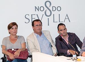 Juan Carlos Cabrera, Pía Halcón y Rafael Belmonte