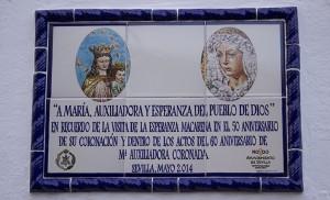 Así es el nuevo azulejo conmemorativo del pasado 31 de mayo