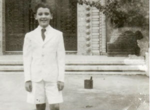Eduardo Tain en el año 1950