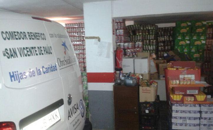 900 lotes de comida repartidos a los comederos sociales del Casco Antiguo