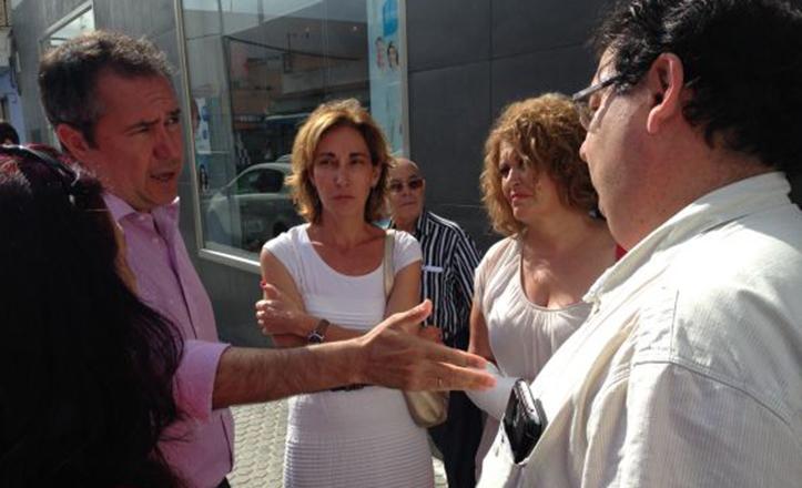 Juan Espadas y Adela Castañó han hecho balance en Torreblanca sobre los tres años de mandato de Zoido