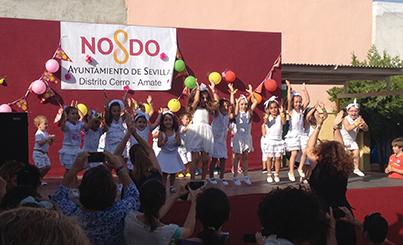 Instantánea de la Fiesta de Fin de Curso del CEIP Toribio Velasco