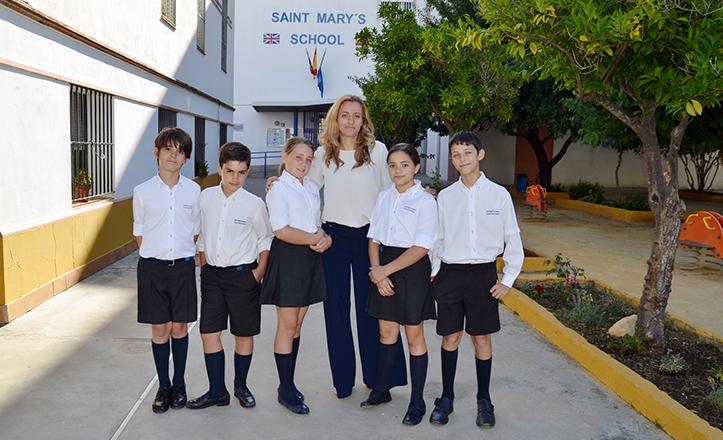 Alumnos del St. Mary School que optan a un premio nacional por su cortometraje «Un viaje a la seguridad»