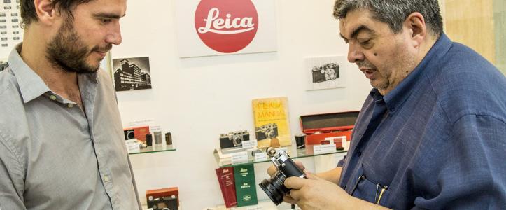 La exposición de Leica