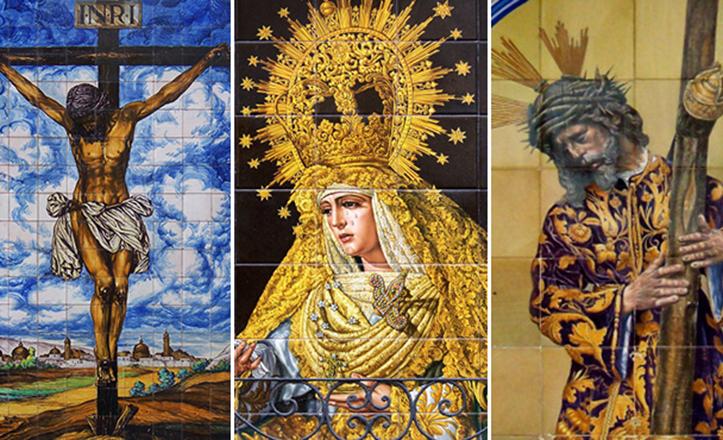 Un repaso por los retablos cerámicos más interesantes de Sevilla