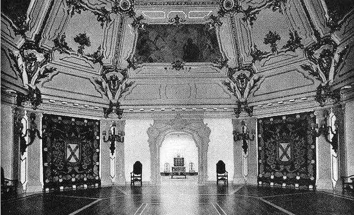 Interior del Pabellón de Portugal 1929