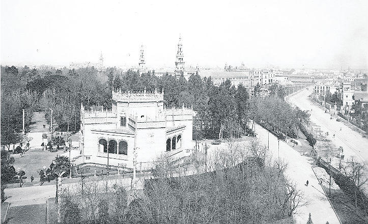Pabellón Real 1929