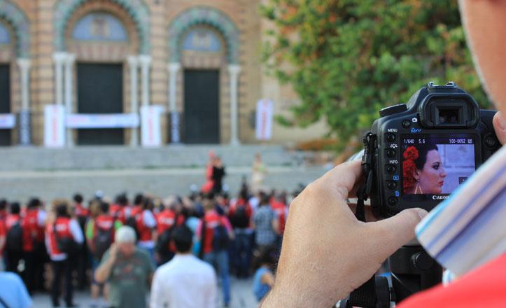 Sevilla, en el objetivo de 2.000 fotógrafos