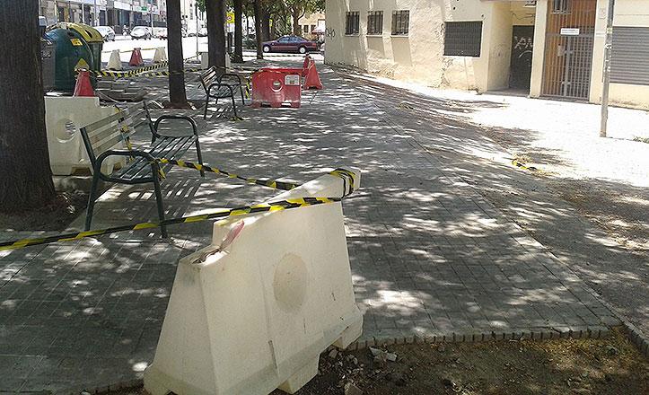 Reparación integral de la barriada de La Corza