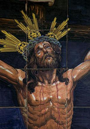 Azulejo del Cristo de la Expiración «El Cachorro»