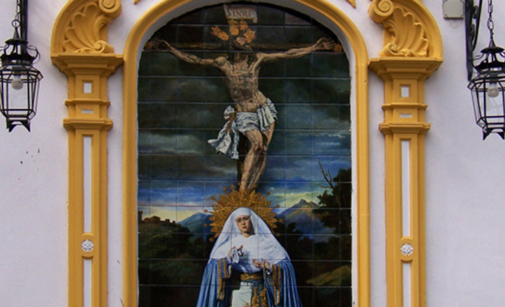 El retablo del Museo muestra a los titulares en su disposición de cultos
