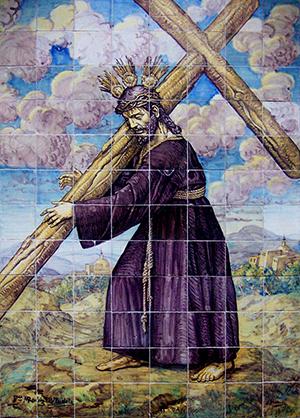En el retablo, el Nazareno del Silencio no abraza cruz de carey