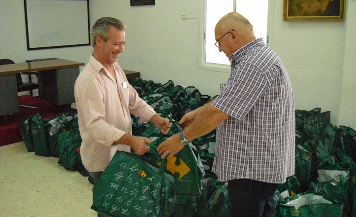 Seis mil kilos de alimentos se han repartido en San Pablo-Santa Justa