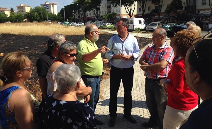 Espadas hace Balance con los vecinos de Sevilla Este