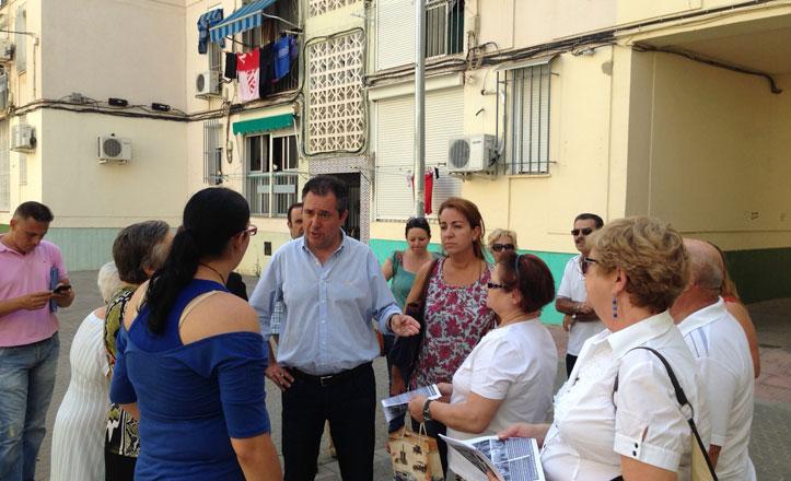 Espadas hace balance de los tres años de mandato de Zoido en San Pablo