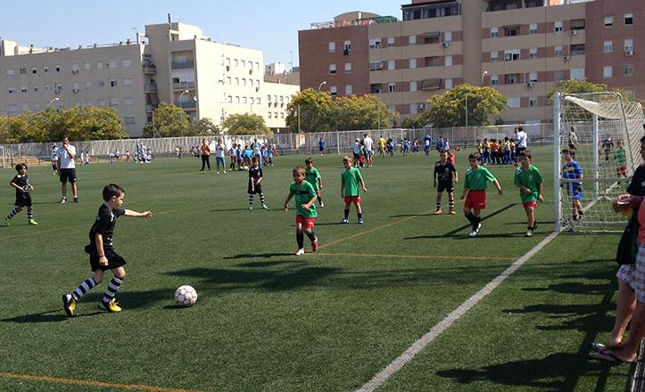 Torneo de fútbol de primavera Padre Pío 2014