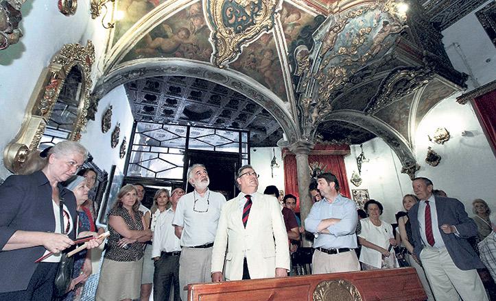 El alcalde Juan Ignacio Zoido en la canillita de San José