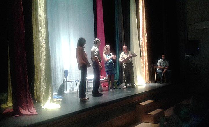 Teatro con sabor a dulce despedida con el IES Federico Mayor Zaragoza