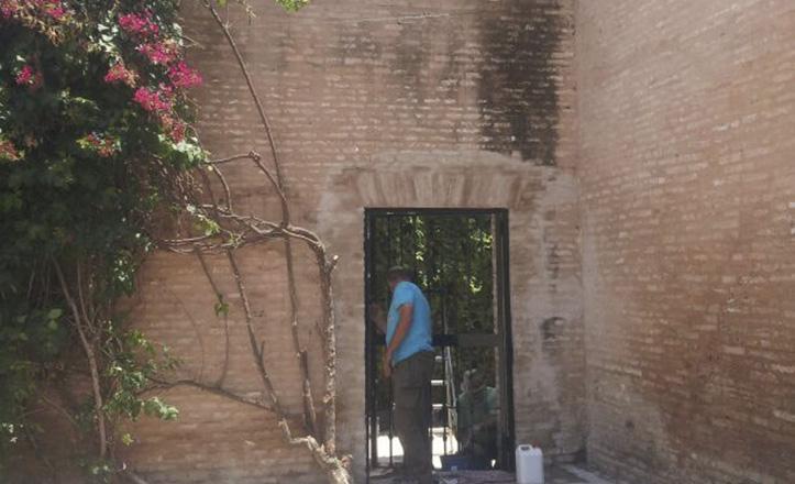 El Palacio de la Buhaira cuenta con una nueva salida de seguridad