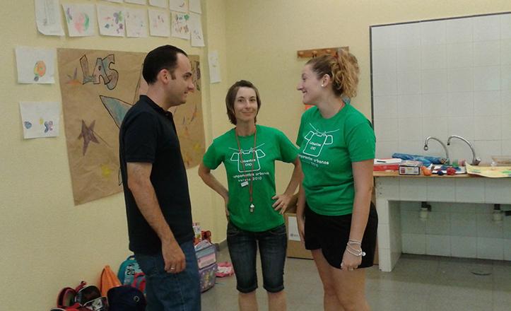 Rafael Belmonte visita la Escuela de Verano