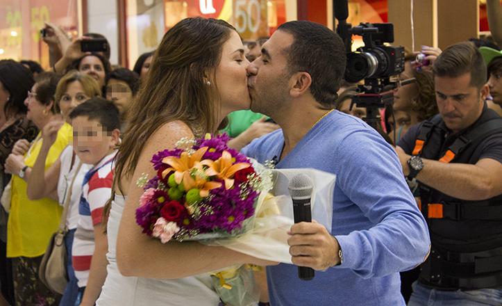 Propuesta sorpresa de matrimonio en Los Arcos