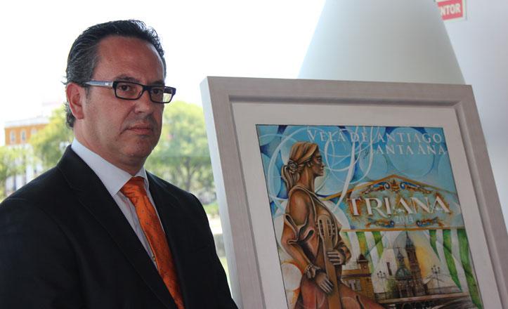 «El cartel de la Velá se trazó escuchando soleares trianeras de Antonio Mairena»