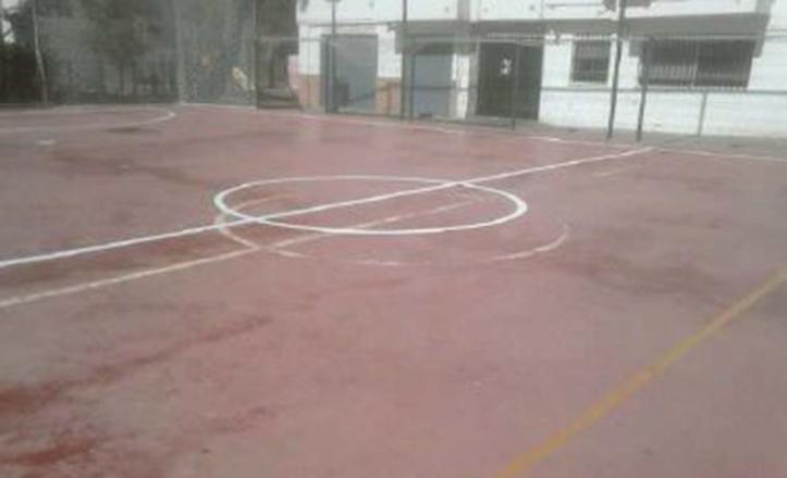 Estado actual del campo de fútbol del Centro Deportivo Los Prunos
