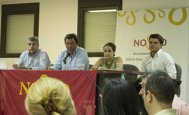 El Delegado de Participación Ciudadana y Coordinador de Distritos, Beltrán Pérez, también ha asistido al debate