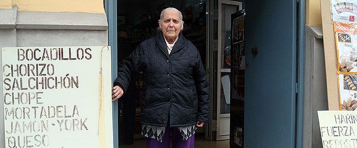 Fallece Amalia Vallecillo, la dueña de la tienda de la calle Almirante Apodaca
