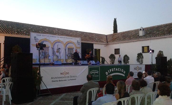 Momento del Festival La Fragua 2014