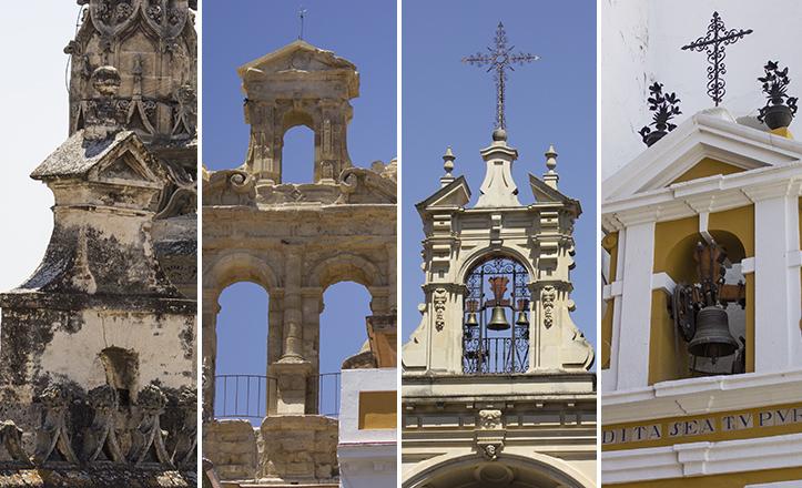 Las diez espadañas singulares de Sevilla