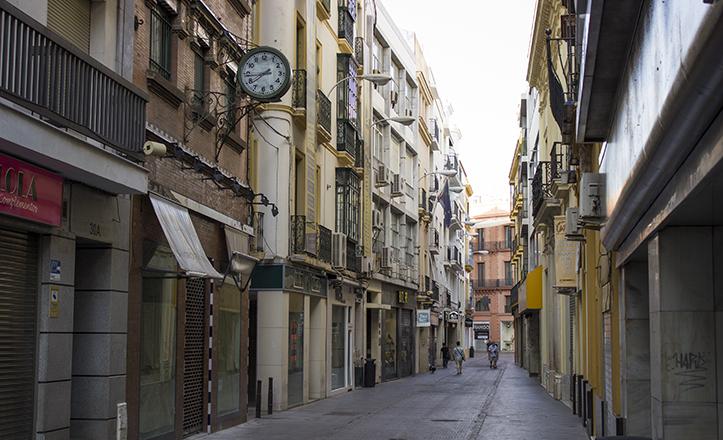 La última mudanza en Sevilla se produjo a la calle O'Donnell número 20. Tras su estancia allí, se trasladarían a Madrid / F. Piñero