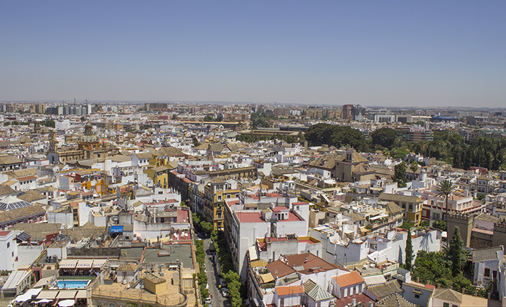 Sevilla a ras de cielo