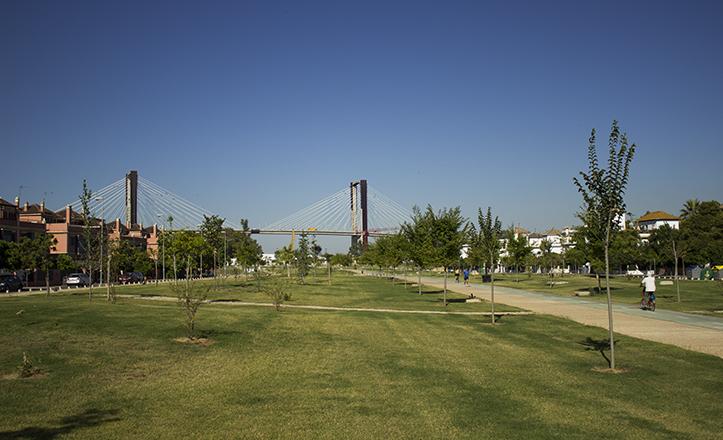 Urbanismo dotará de iluminación al Parque del Guadaira