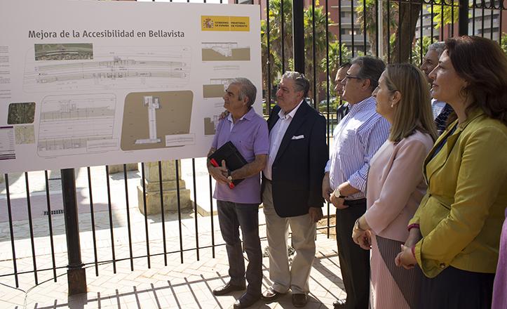 De izquierda a Derecha, Antonio Andrades, Juan Lobo, Rafael Belmonte, Juan Ignacio Zoido, Ana Pastor y Carmen Crespo