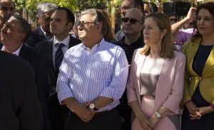 Momento de la presentación de los proyectos ferroviarios para Bellavista