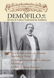 Ejemplo de portada de la revista «Demófilo»